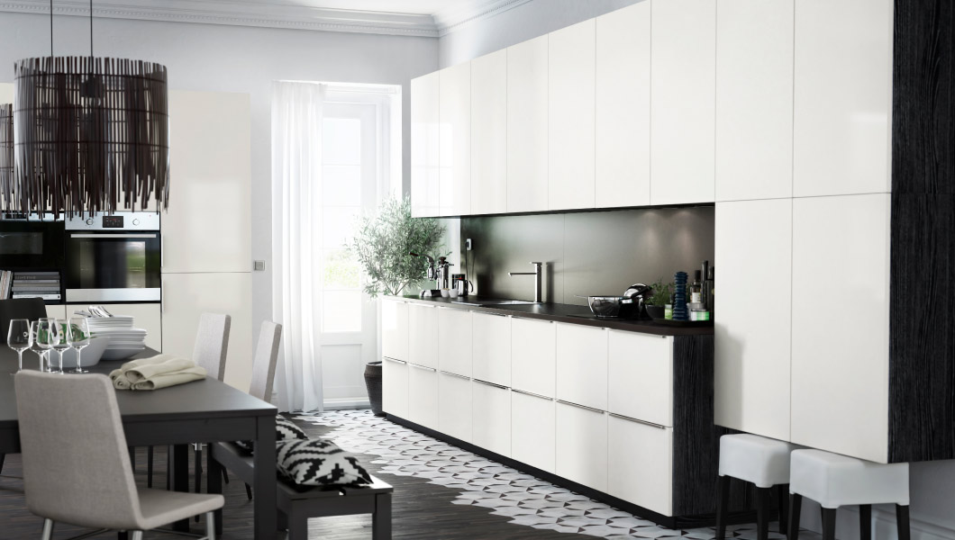Why ikea kitchens in europe and australia look so built in for Ikea küchenzeile