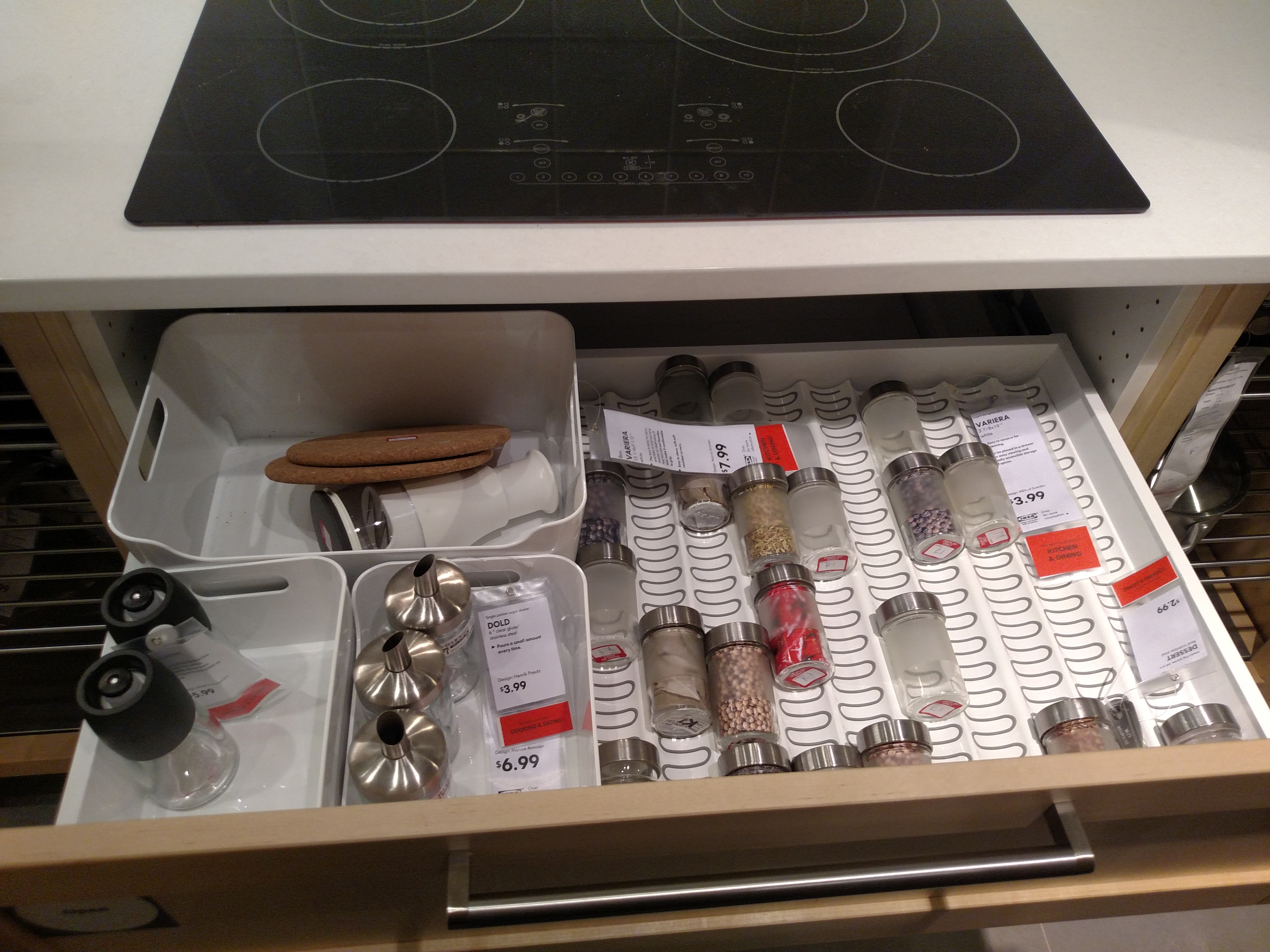 Kitchen Drawer Spice Organizer Ikea