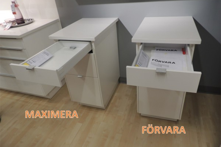 The Difference Between IKEA�s Two Different Kitchen Drawer Types