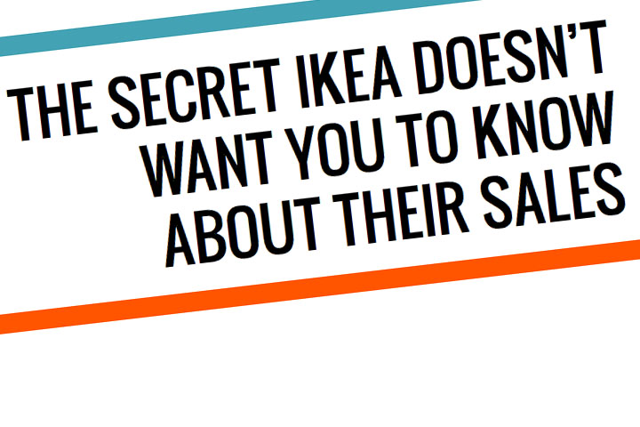 Psst! We Know the Secret About IKEA's Kitchen Sales!