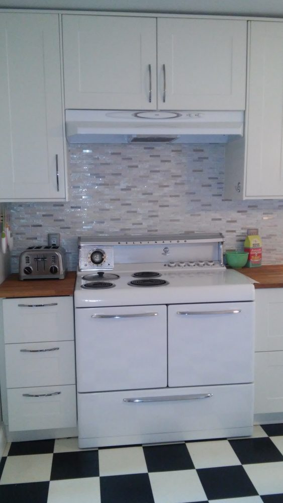 ikea vintage modern kitchen (1)