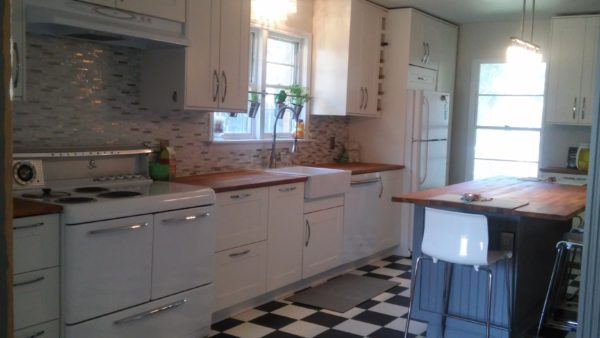 ikea vintage modern kitchen (4)