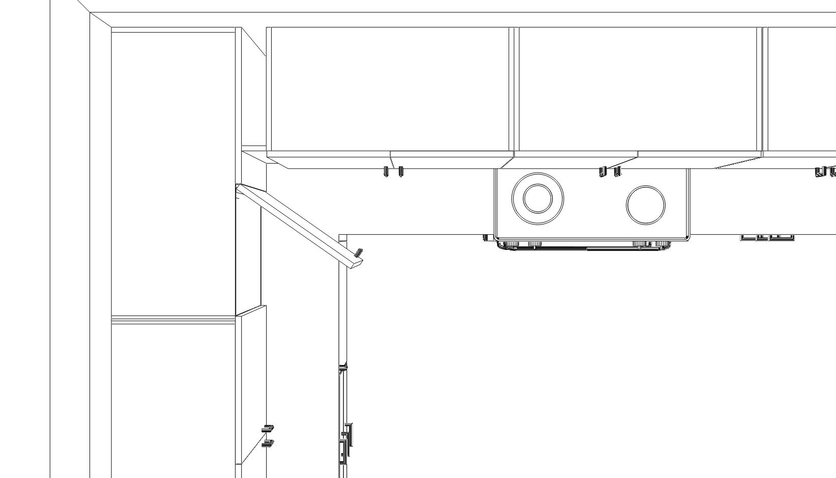 Diagram Corner Base Kitchen Cabinet