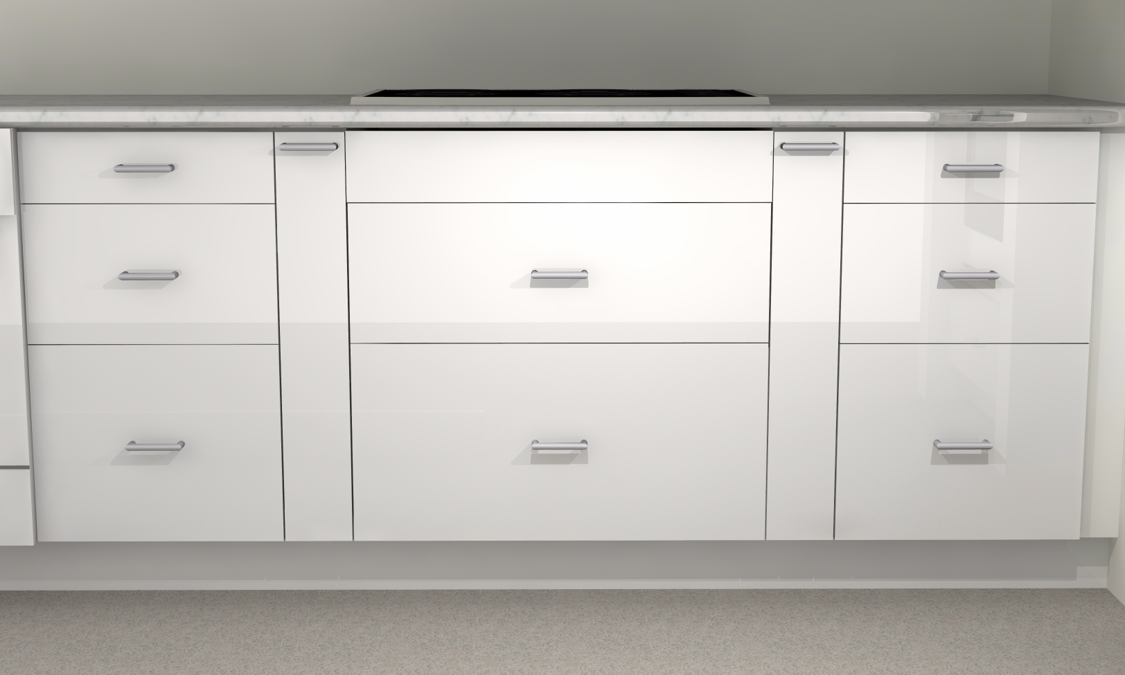 Kitchen Larder Cabinets Ikea Kitchen Hack Spice Up The Gap Next To Your Cooktop