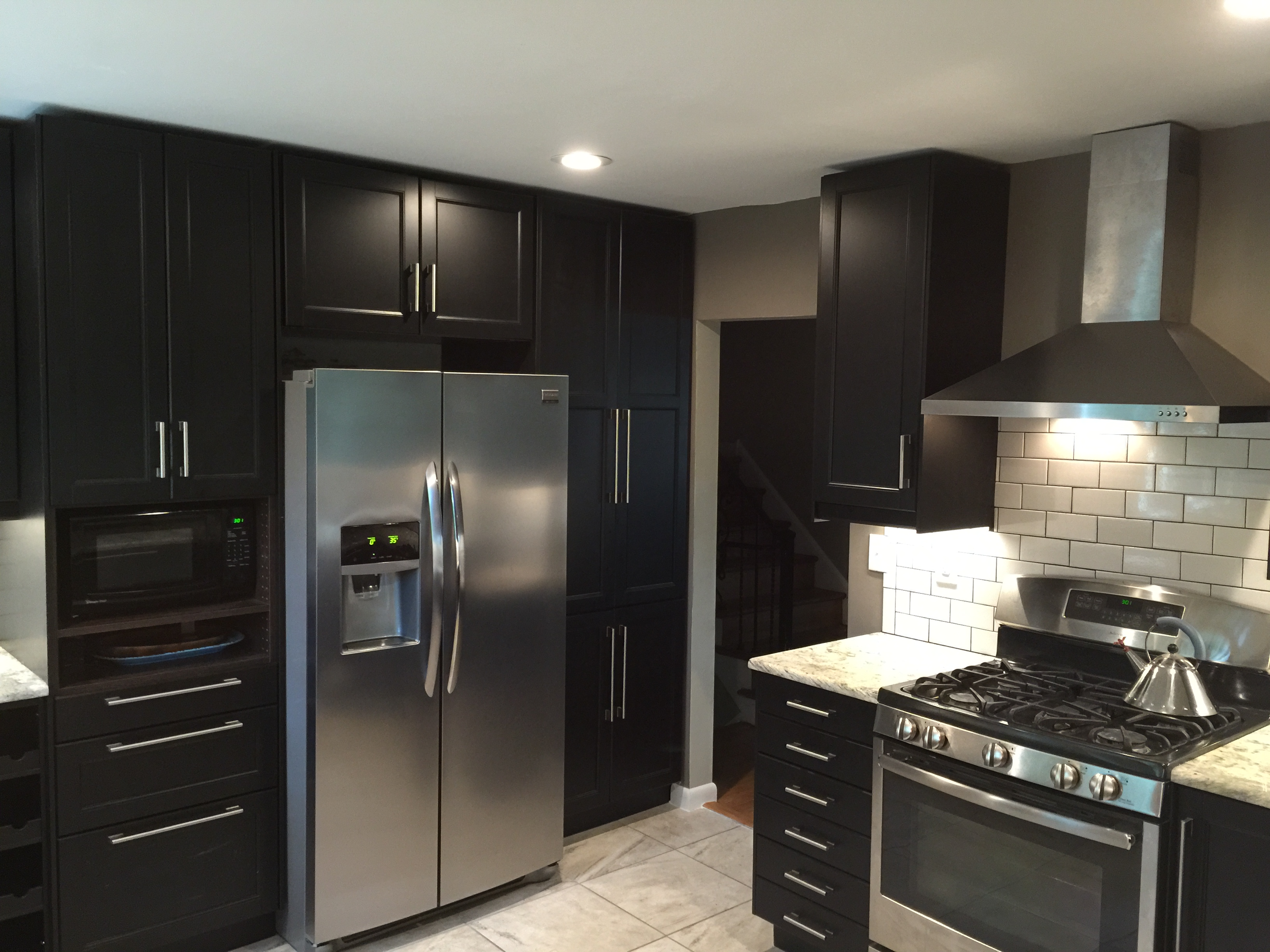 An ikea kitchen renovation for serious chefs with style for Kitchen cabinets ikea