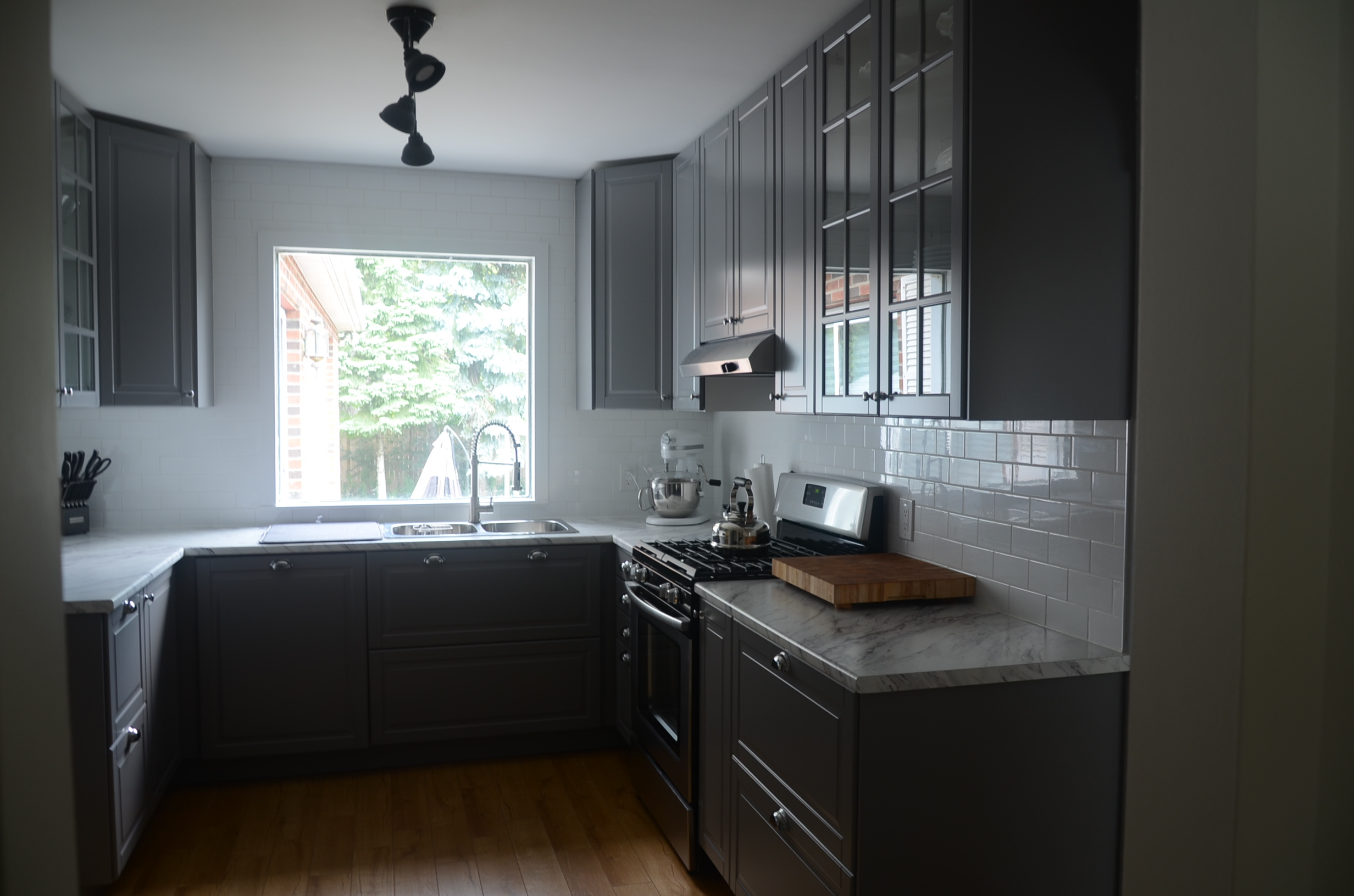 A Modern IKEA Kitchen Renovation In Less Than Month