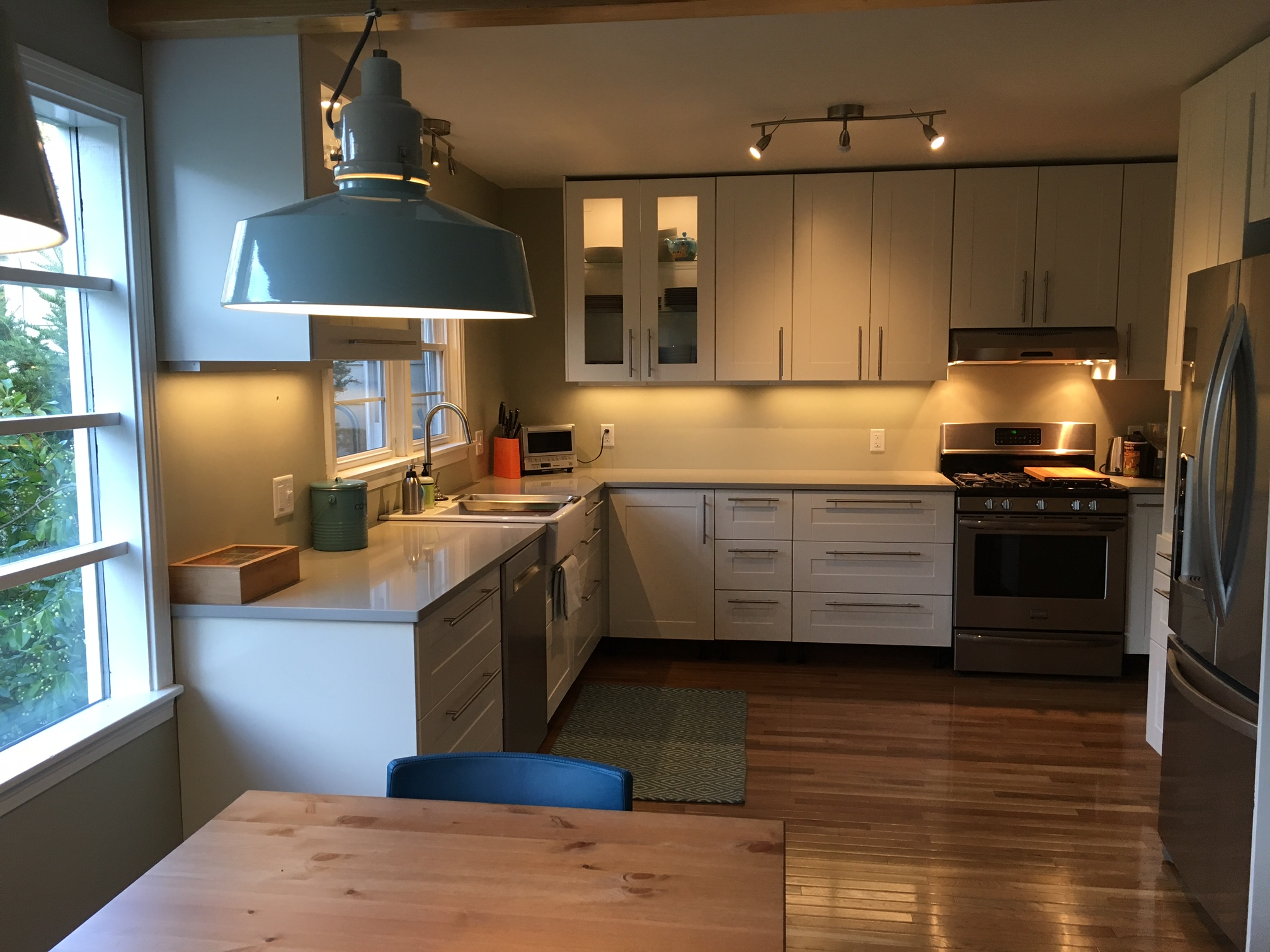 A gorgeous ikea kitchen renovation in upstate new york for New kitchen renovation