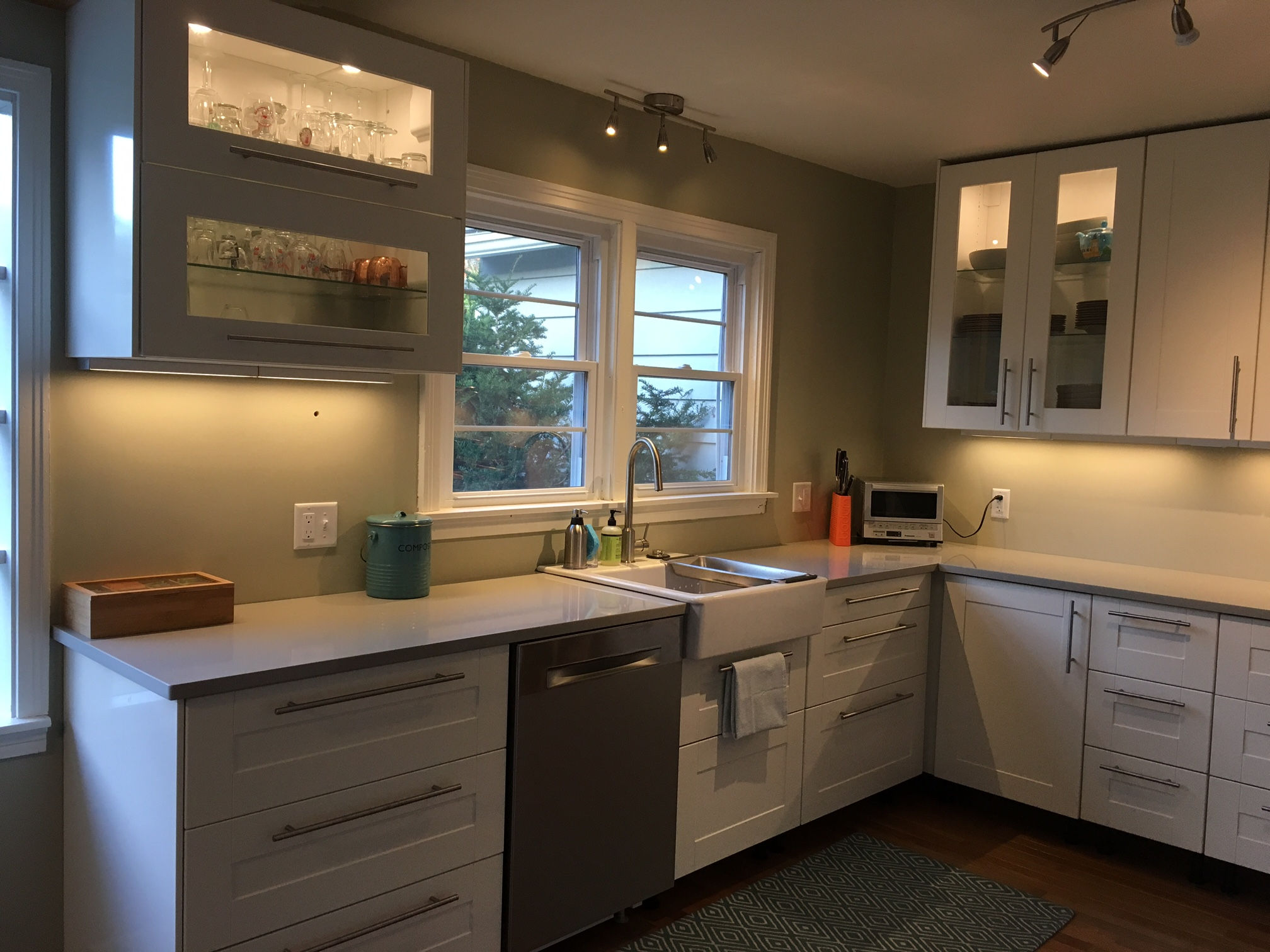 A gorgeous ikea kitchen renovation in upstate new york for Kitchen cabinets at ikea