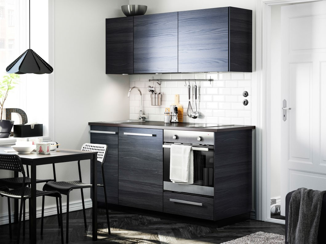 Why ikea kitchens in europe and australia look so built in - Small kitchens ikea ...