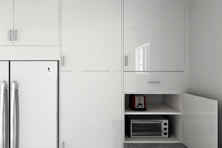 appliance garages kitchen