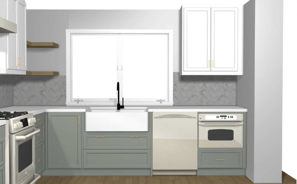 IKEA Kitchen Hack: A Base Cabinet for Farmhouse Sinks and ...