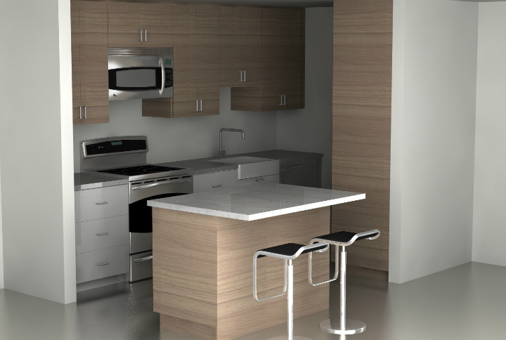 Superior Small Ikea Kitchen Ideas Part - 11: #1: Five Simple Tips To Increase Counter Space In Your Small IKEA Kitchen