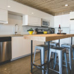 A Bright and Warm White IKEA Kitchen in Yellowknife, Canada