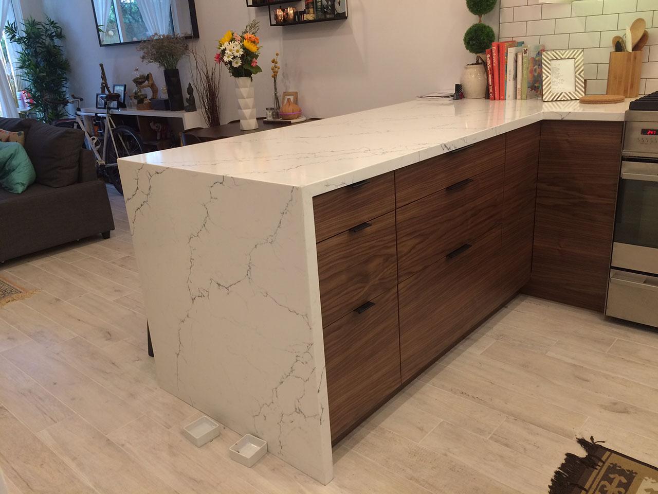 Ikea Kitchen Mid Century Modern 1
