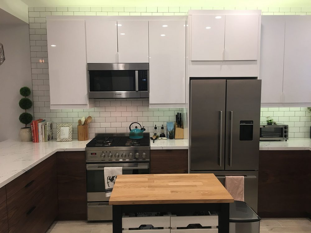 ikea kitchen mid century modern (6)