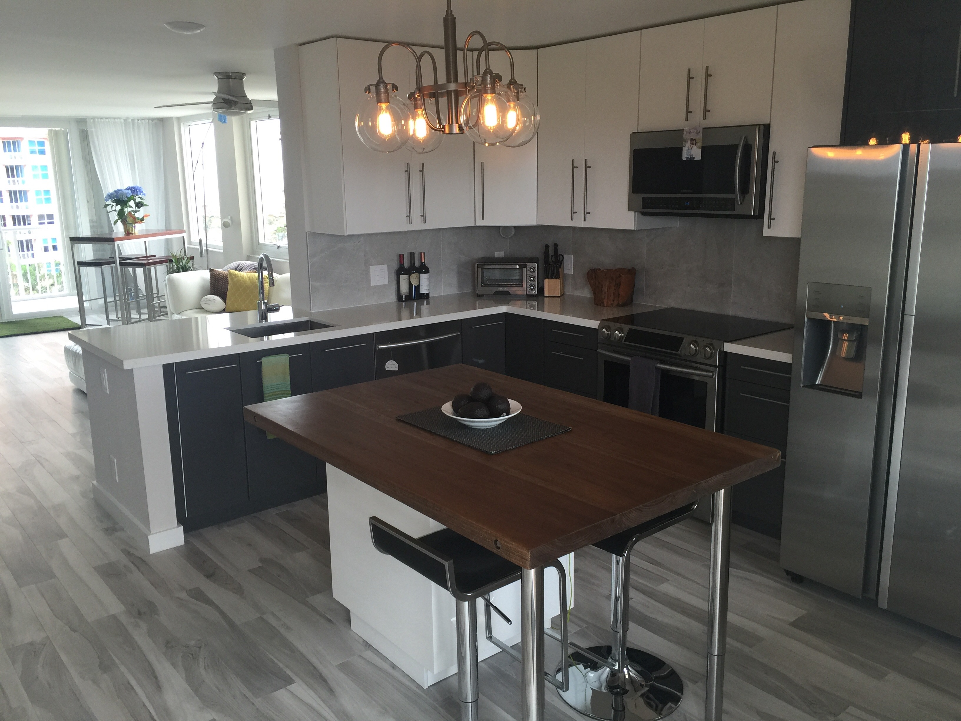 Design Flair for a HighRise Condo IKEA Kitchen