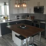 Design Flair for a High-Rise Condo IKEA Kitchen