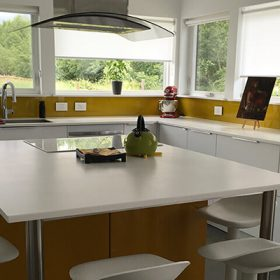 Bright, Modern Ikea Kitchen Design in Bozeman, Montana