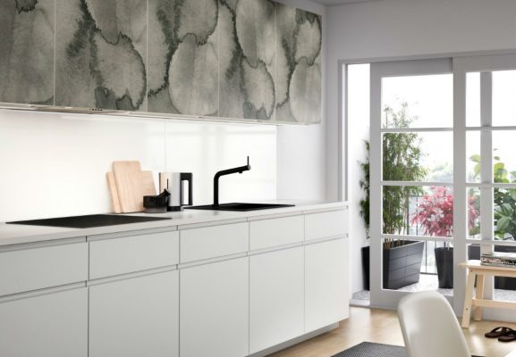 an elegant counter for eyecatching areas in your new ikea kitchen