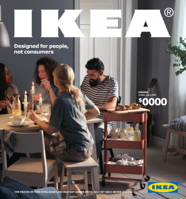 Cover For Ikea 2017 Catalog
