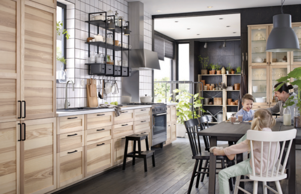 Superbe Industrial_ikea_kitchen