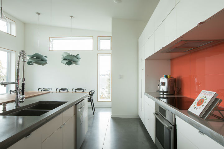 An IKEA Kitchen & Passive Solar Design Make this Home Positively Luxe