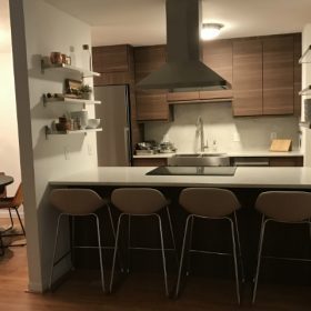 See How the New Walnut VOXTORP Doors Look in a Real IKEA Kitchen