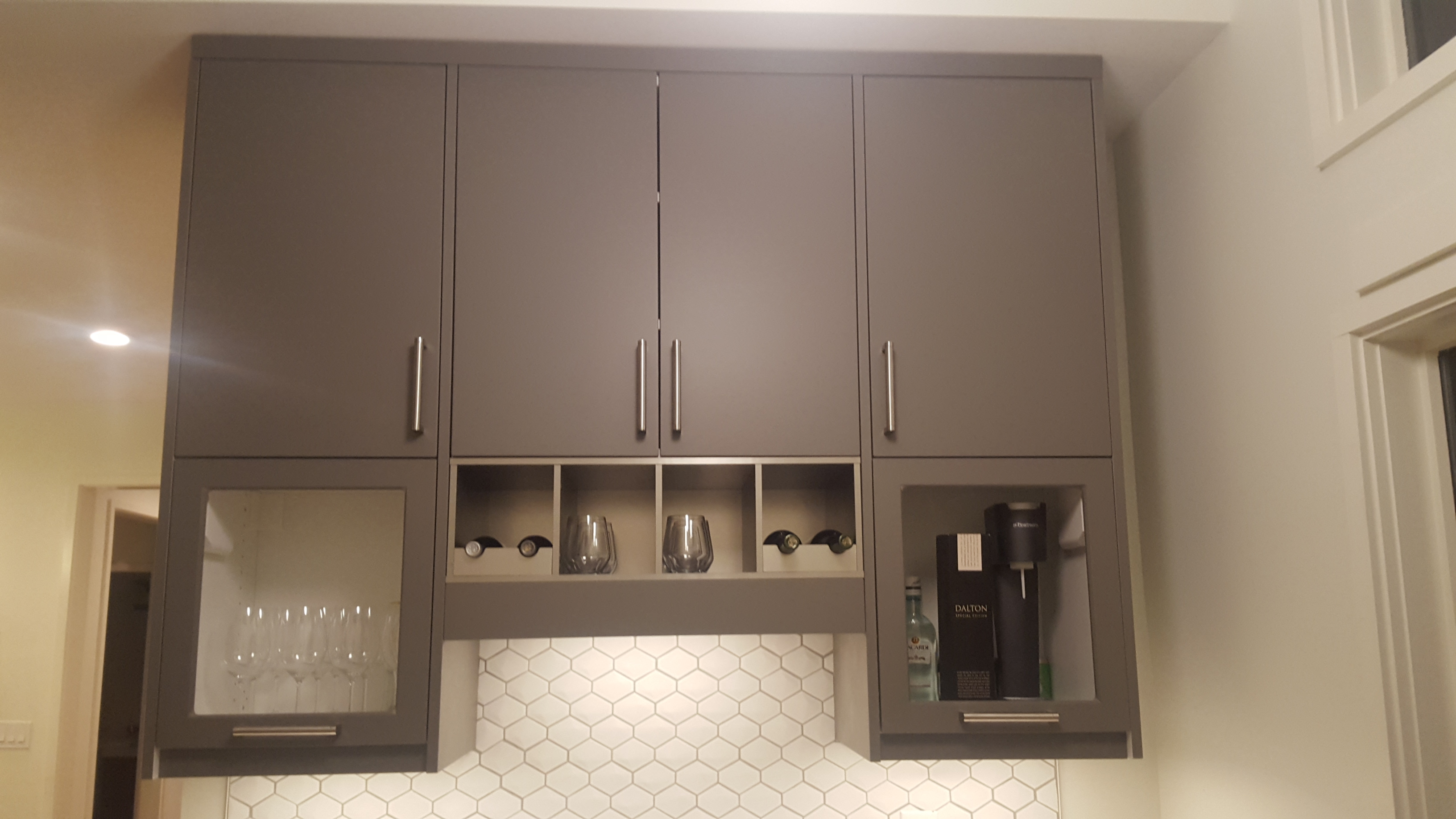 Does this classic atlanta bungalow have an ikea kitchen see the semihandmade doors in close up over the bar area eventelaan Choice Image