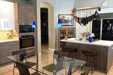 An IKEA Kitchen in Las Vegas Rocks a European Look