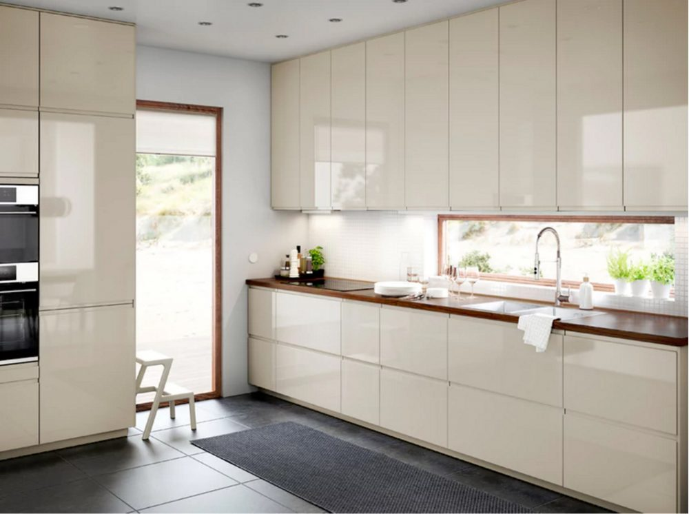 Ikea Is An Affordable Flexible Option For Getting A European Style Kitchen In North America Their Latest Addition Voxtorp Doors Cabinets And
