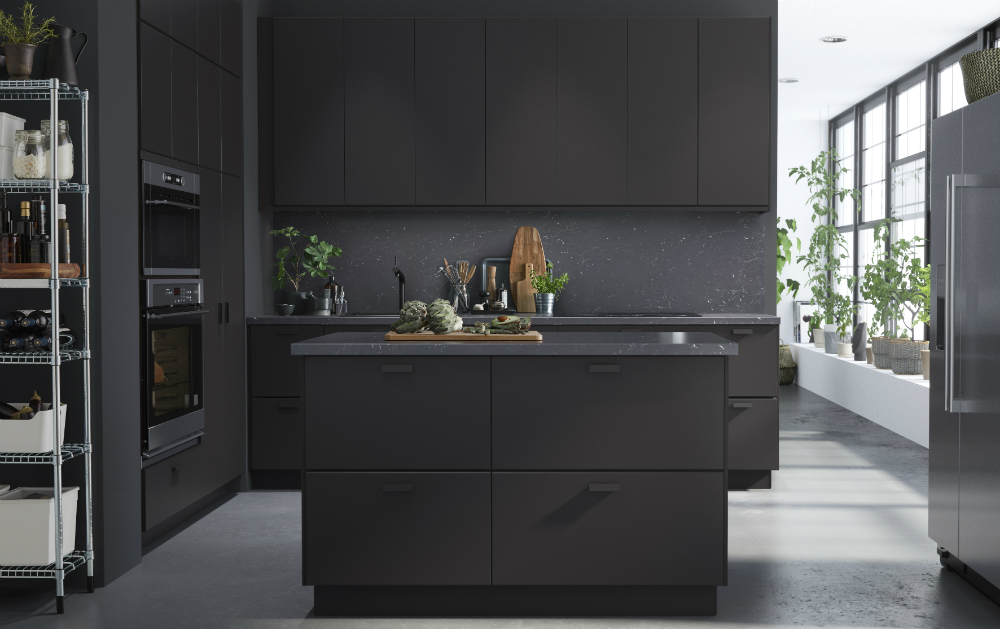 KUNGSBACKA doors are made with recycled materials which makes them more environmentally friendly than the other IKEA doors. The wood comes from 3 primary ... & KUNGSBACKA is IKEAu0027s New Kitchen Door Made from Recycled Materials