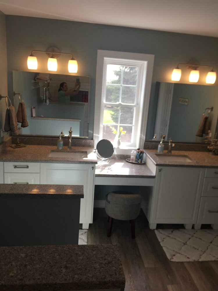 Laundry Room And Master Bathroom