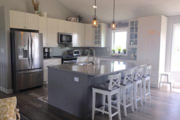 """A Modern Farmhouse Kitchen for A Self-Described """"IKEA Freak"""""""