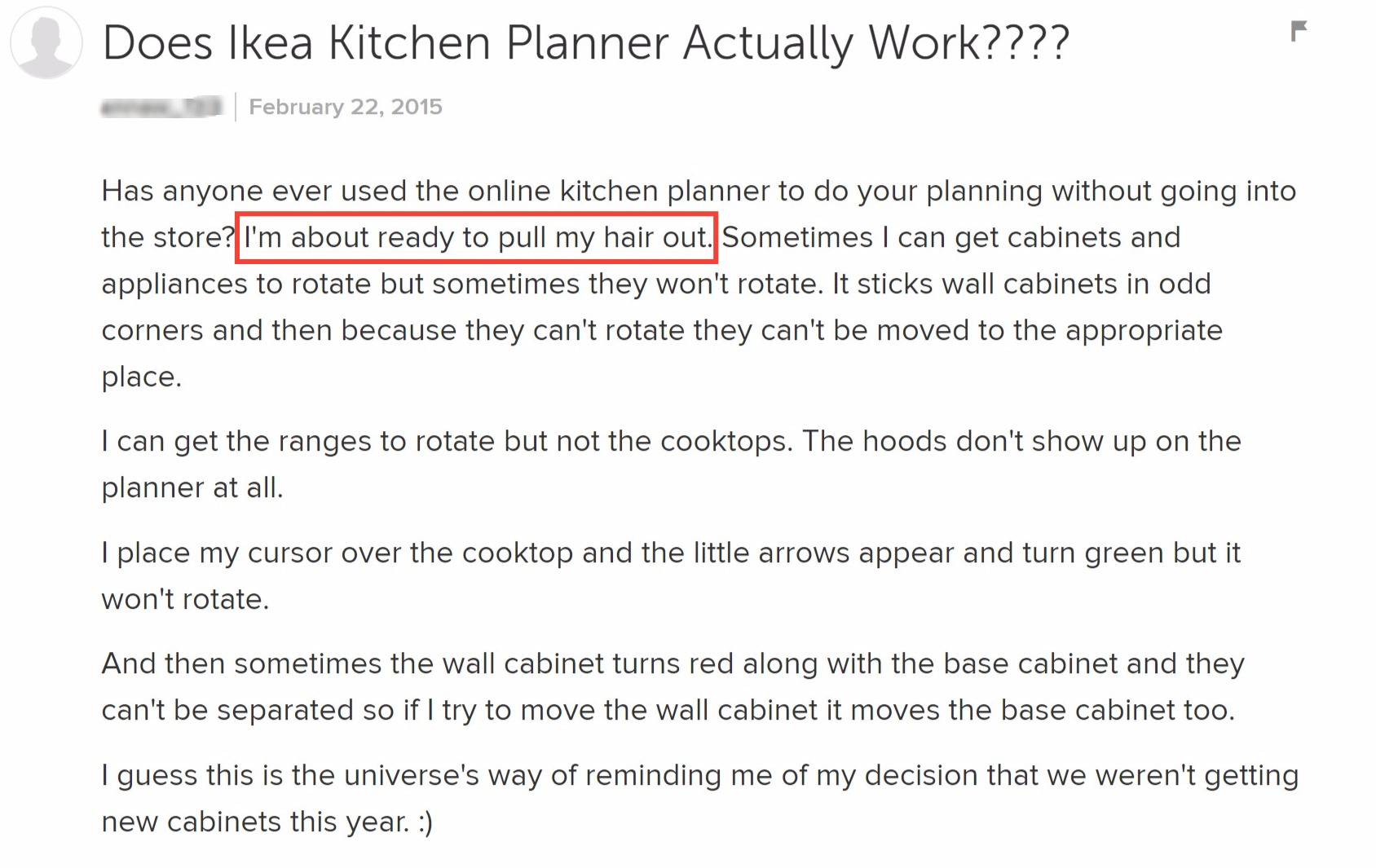 Ikea Kitchen Planner Problems