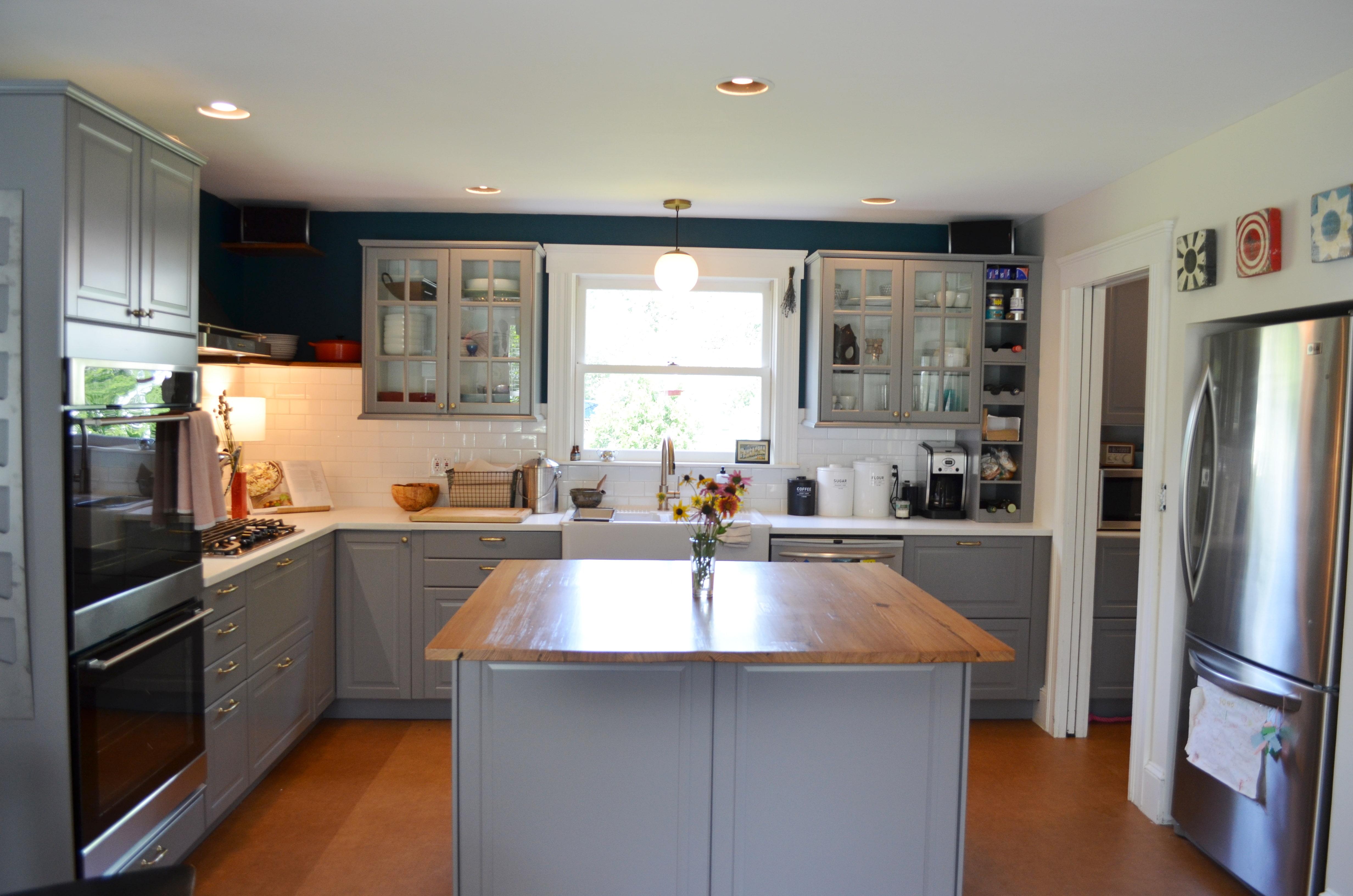 classic style ikea kitchen