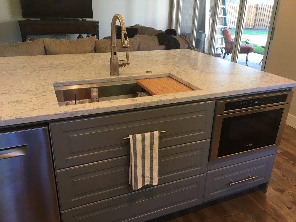 The 3 ways heather made her ikea kitchen look high end - Ikea kitchen designer los angeles ...