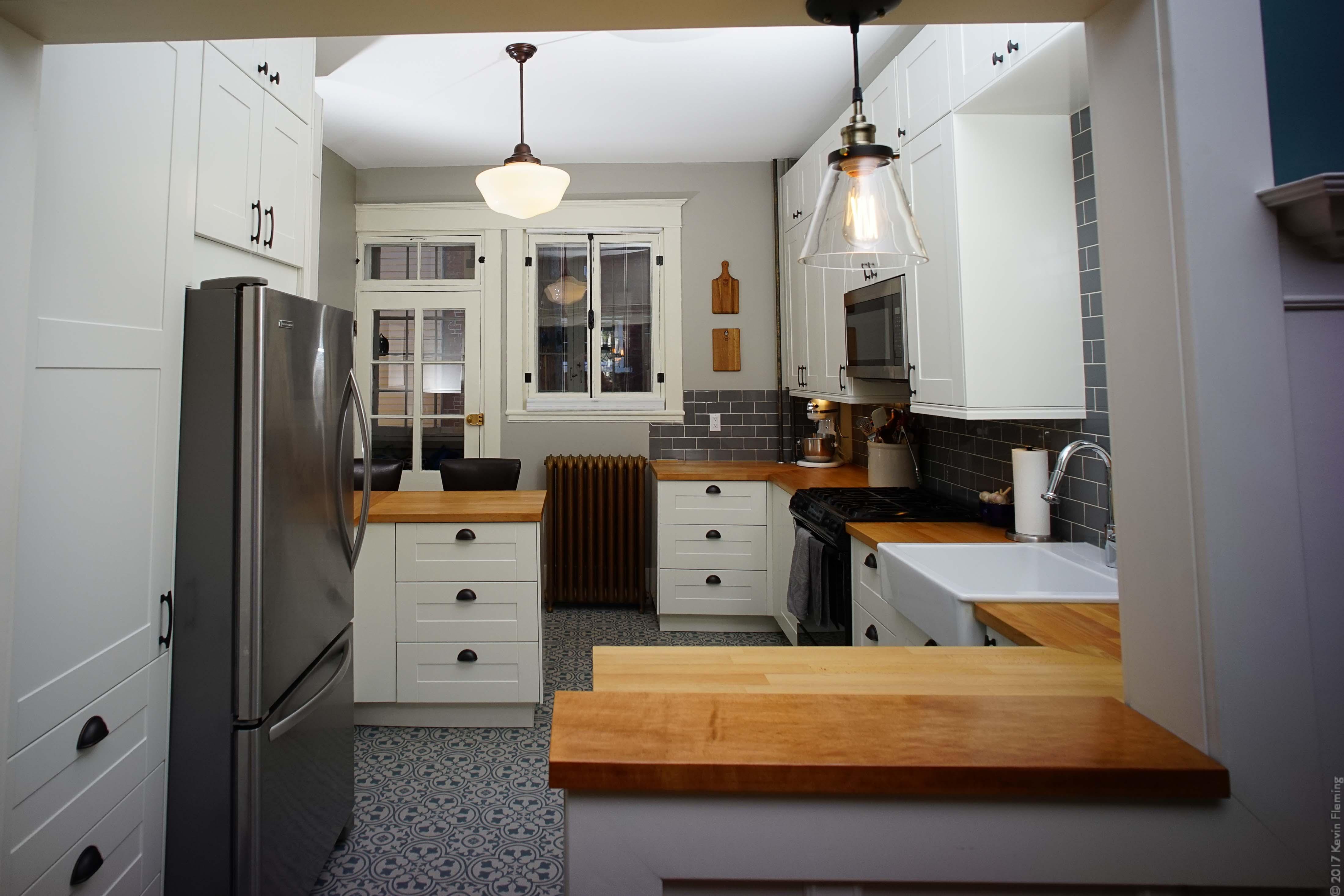 classic ikea kitchen