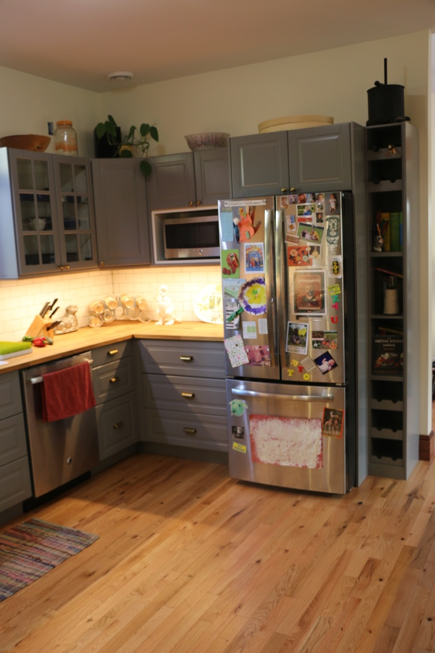 An ikea kitchen helps keep this minnesota home warm in the winter - Kitchen design minneapolis ...