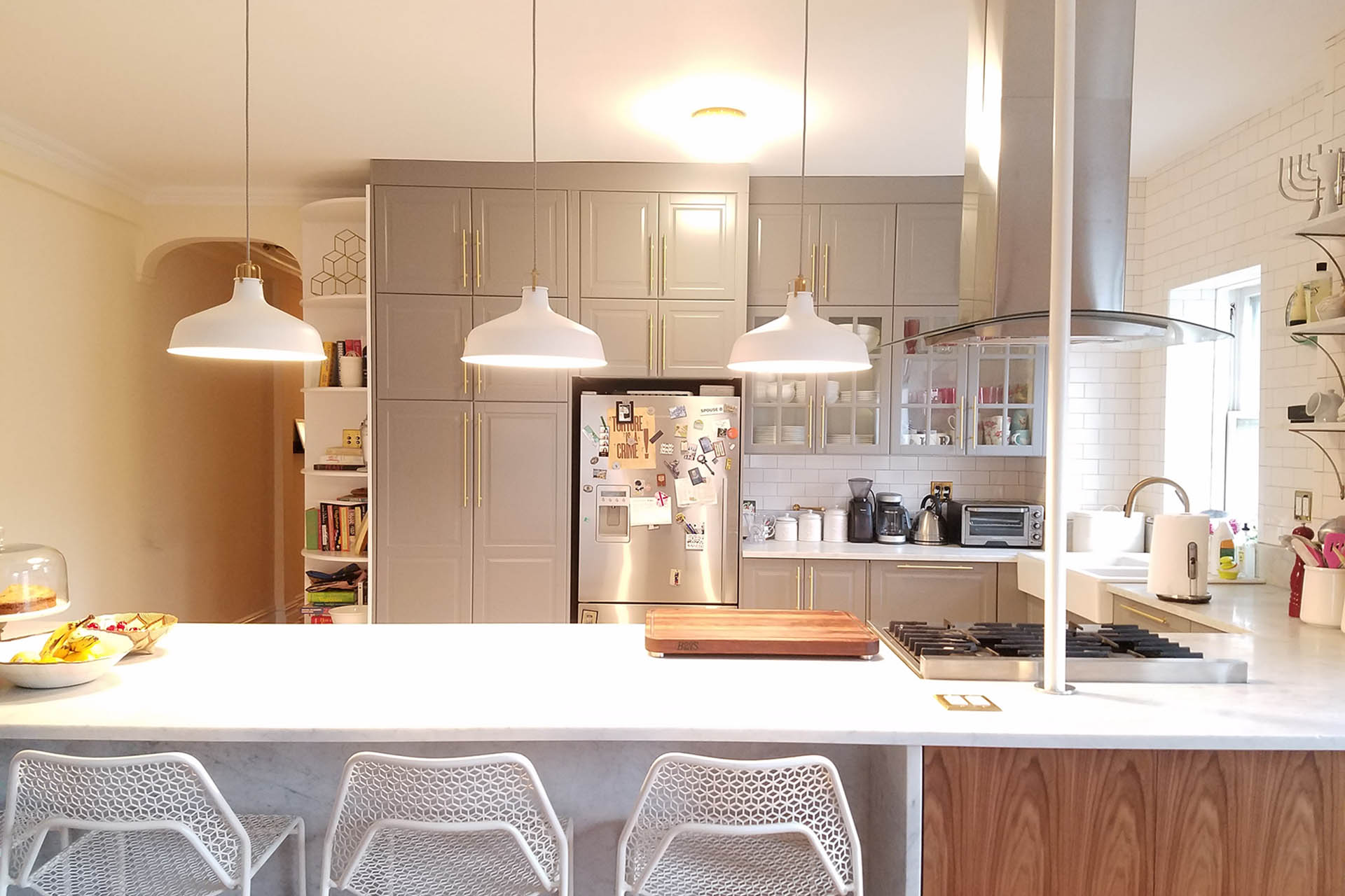5 IKEA Kitchens Designed To Keep Your Guests Closeu2026But Not Too Close