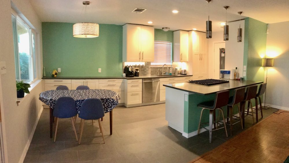It's Goodbye Galley And Hello Gorgeous With This Austin IKEA Stunning Kitchen Design Austin