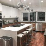 Semihandmade got the organic wood-look for her IKEA kitchen