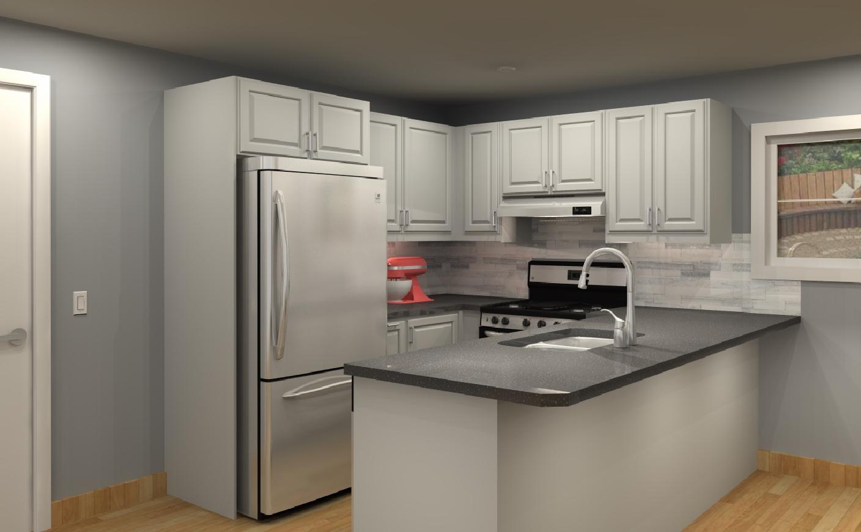 Three Ikea Kitchen Cabinet Designs Under 4 000
