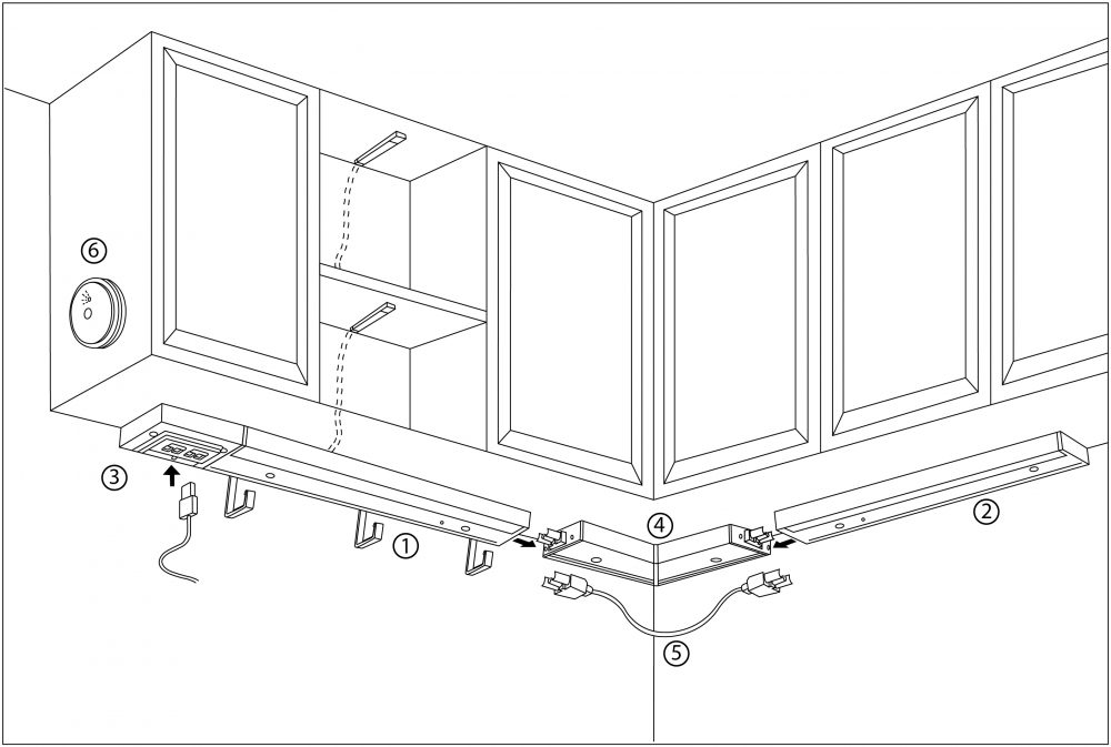 making sense of ikea kitchen cabinet lighting pt  2