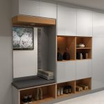 Designing the ideal mudroom with IKEA cabinets