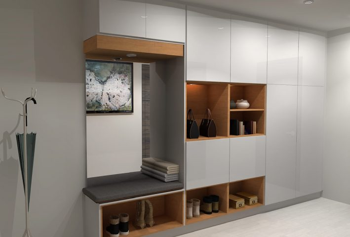 Ideal IKEA Mudroom