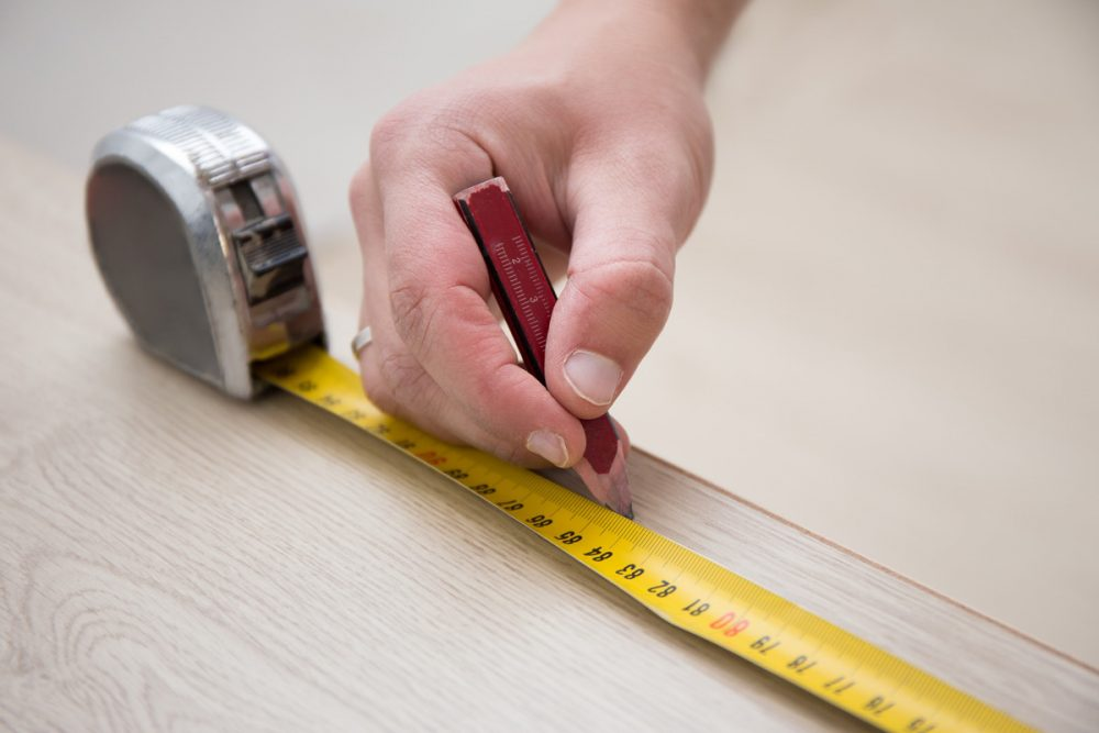 Measuring Tape in Kitchen