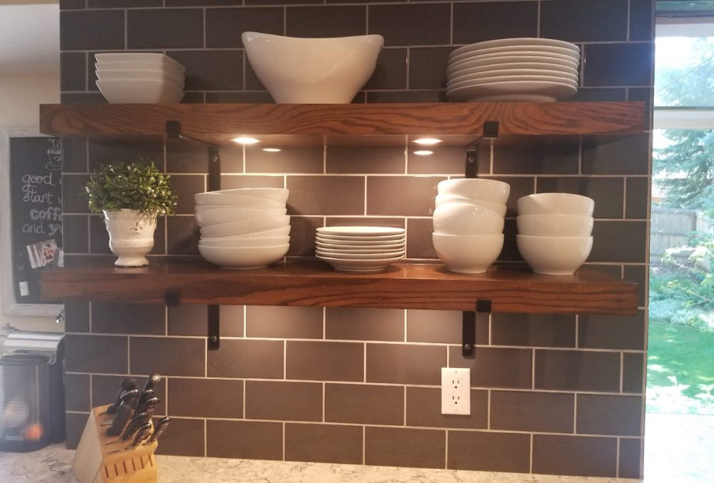 Space Saving Shelves