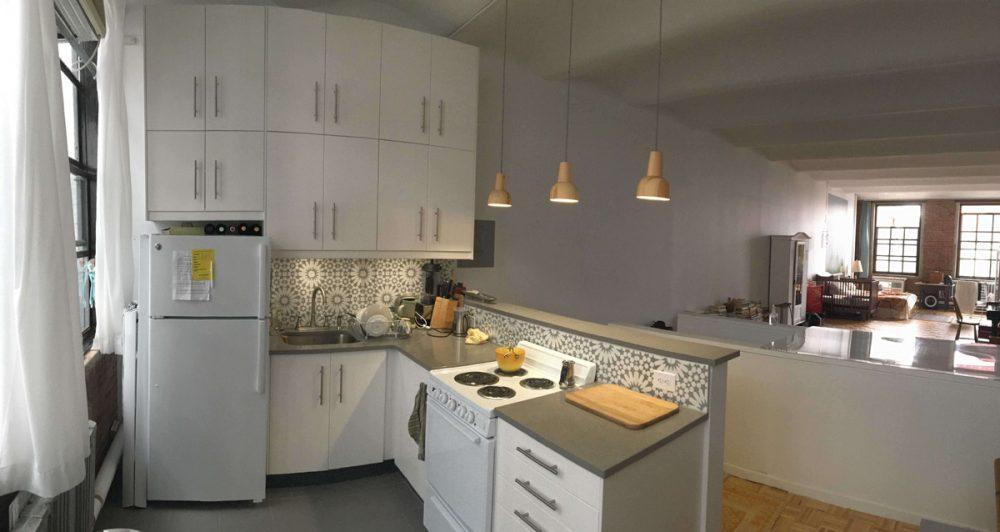 NYC IKEA kitchen