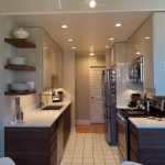 Straight Narrow Kitchen