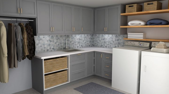 IKEA Laundry Room Design